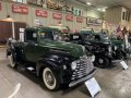 A 1947 Mercury 1/2 Ton Pickup Truck. Built and sold only in Canada.