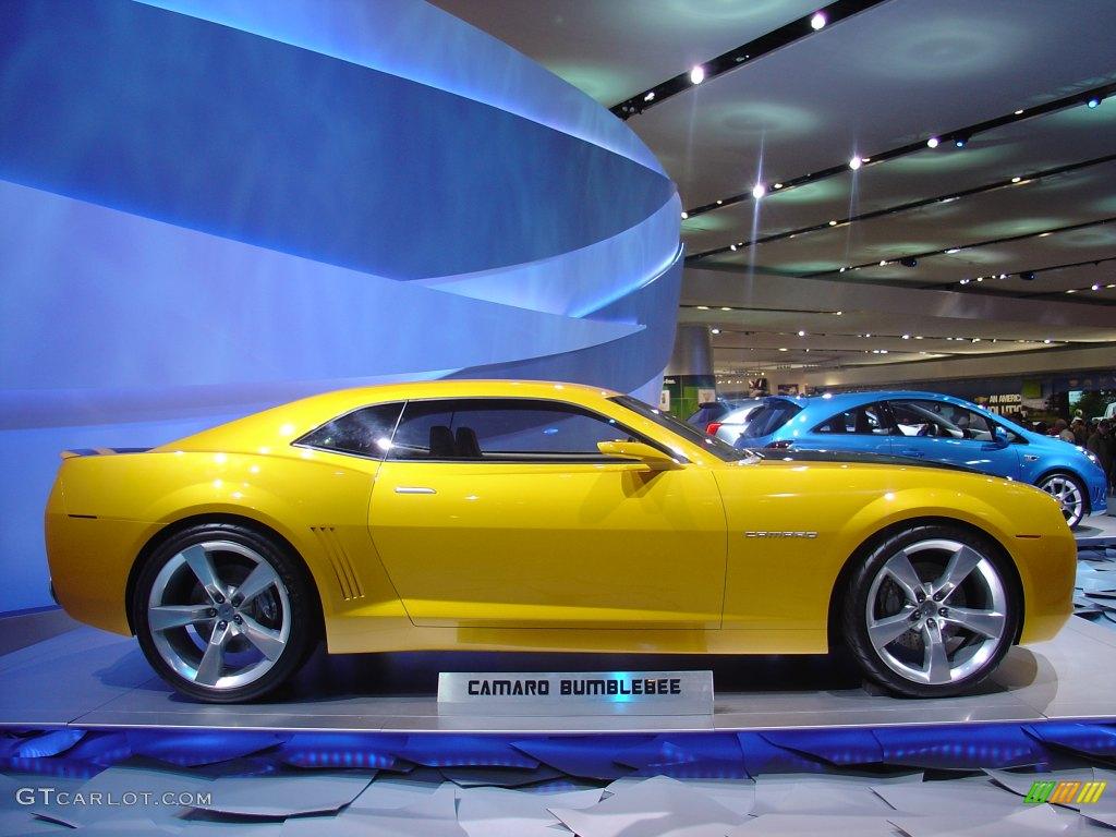 Camaro Bumblebee concept   GTCarLot.com
