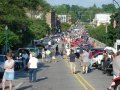 Ypsilanti's E. Cross Street and the Depot Town Cruise Nights