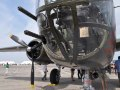 The North American Aviation B-25J Mitchell carried a total of 18 M2 Browning .50 Caliber Machine Guns