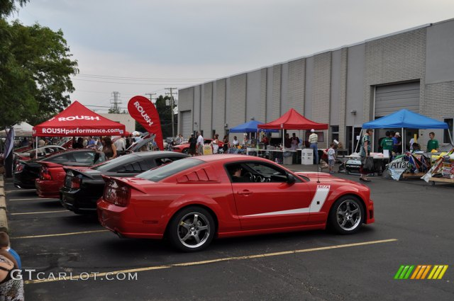 The August 2010 Roush Automotive Collection Open House and Cruise-In