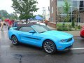 2010 Ford Mustang California Special Convertible in Grabber Blue