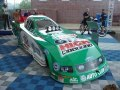 A John Force Ford Mustang Funny Car