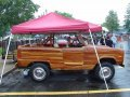1977 Ford Bronco with an all wood body