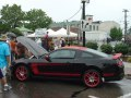 2012 Ford Mustang Boss 302 Laguna Seca in Black/Red at the Woodward Dream Cruise