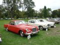 A 1956 Studebaker Sky Hawk and a 1961 Studebaker Hawk
