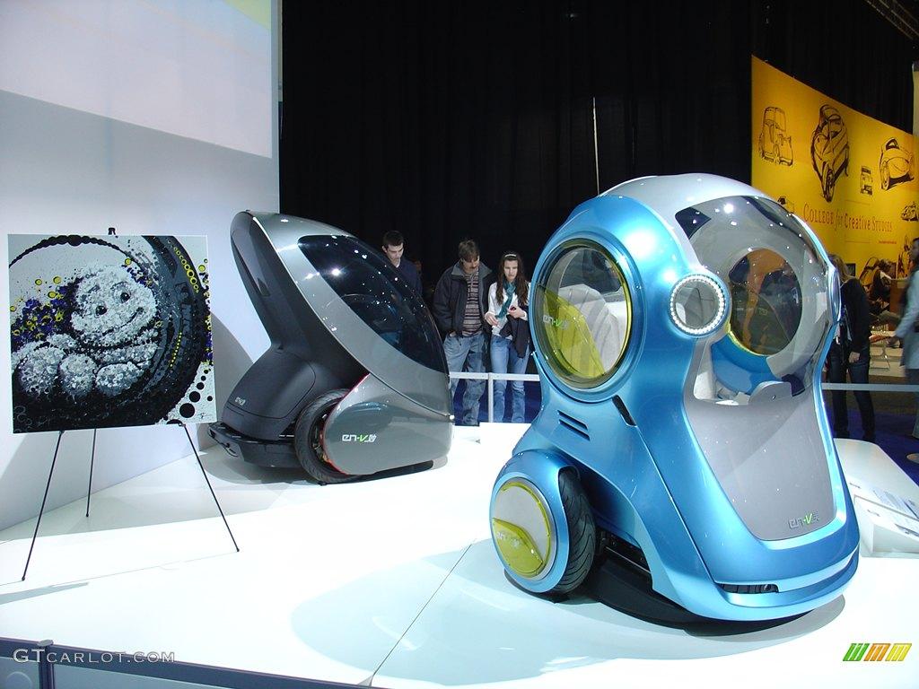 General motors en v electric 2 seat vehicle for General motors electric car