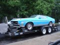 1971 Ford Mustang Mach1 in Grabber Blue