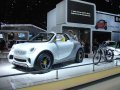 Smart for-us Concept Urban Pickup, 2 passengers and 2 bikes