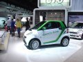 2012 Smart for-two electric car