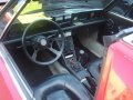 1974 Fiat X1/9 Electric Car, Interior