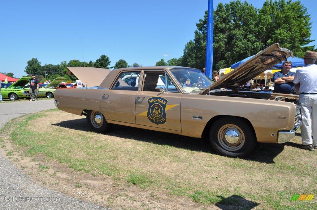 1966 Plymouth Fury Michigan State Police Car | GTCarLot com