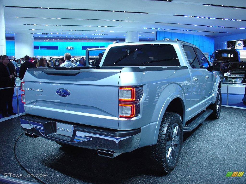 The all aluminum ford atlas concept truck for Atlas car aluminium